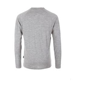 Pally'Hi Grizzland Camiseta Manga Larga Hombre, heather grey